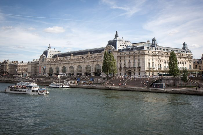 Running in Paris on the banks of the Seine