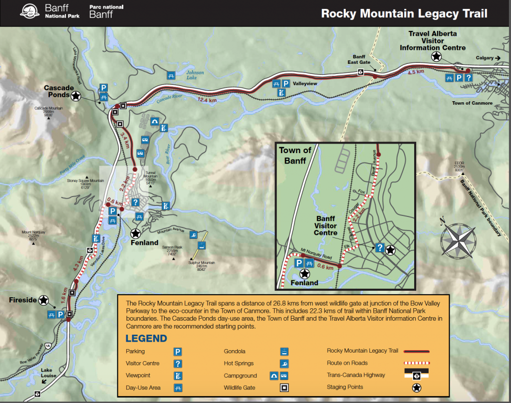 Rocky Mountain Banff Legacy Trail Great Runs