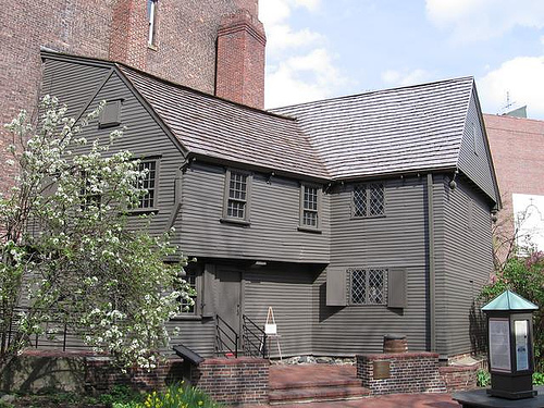 Boston's freedom trail: Paul Revere House