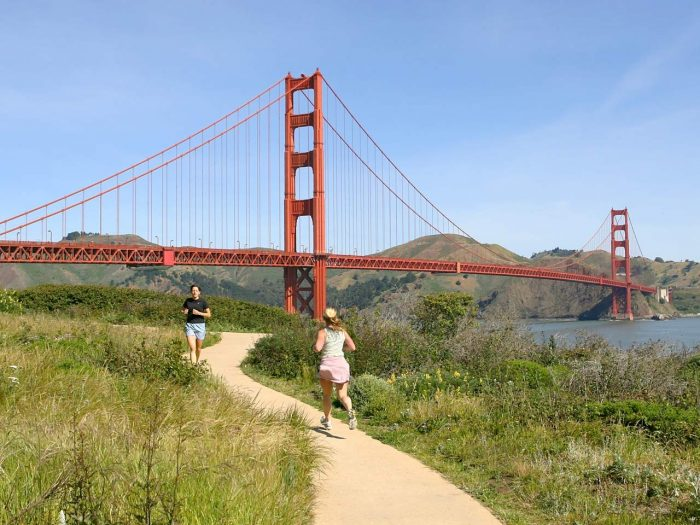 running in san francisco ca best places to run in san francisco