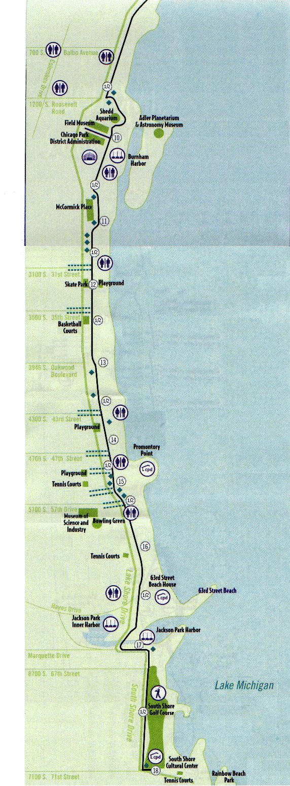 Chicago Lakefront Path - Great Runs on