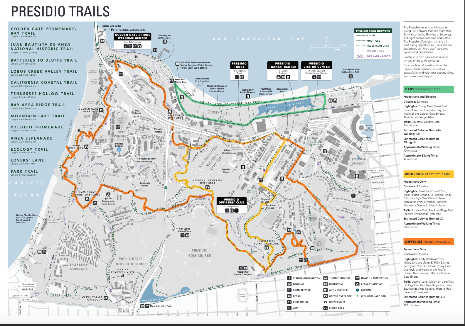 Golden Gate Park Bike Trails Map Bicycling And The Best