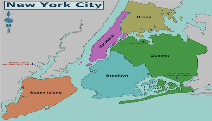 Running In New York City Boroughs New York Best Routes And - New york city map with boroughs
