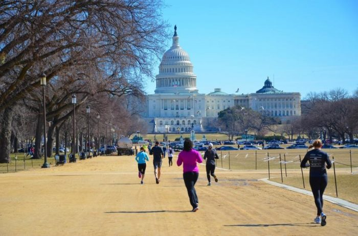 Running in Washington DC Best routes and places to run in