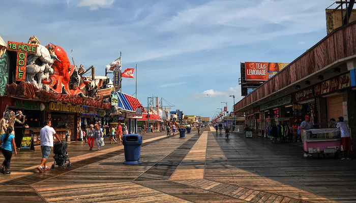 Wildwood Boardwalk And Beach Great Runs