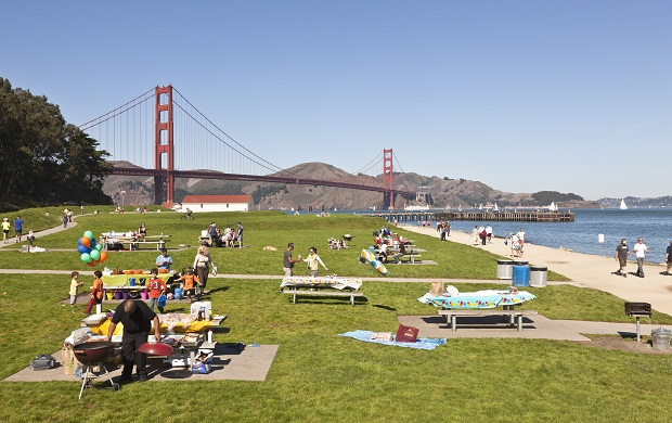 Crissy Field To Fort Point