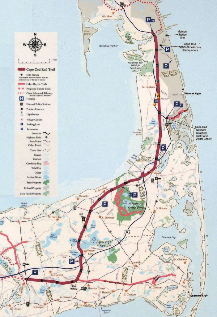 Cape Cod Rail Trail - Great Runs