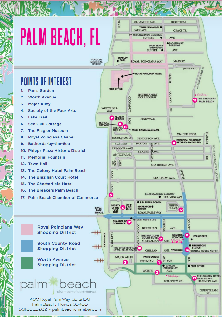 Historic Districts Of Palm Beach And W