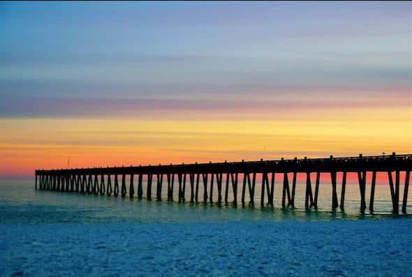 Pensacola Beach Boardwalk Piers