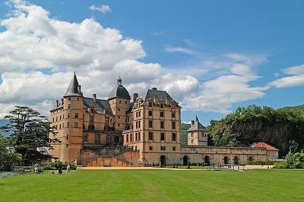 Chateau De Vizille 02, Near Grenoble, France Royalty Free